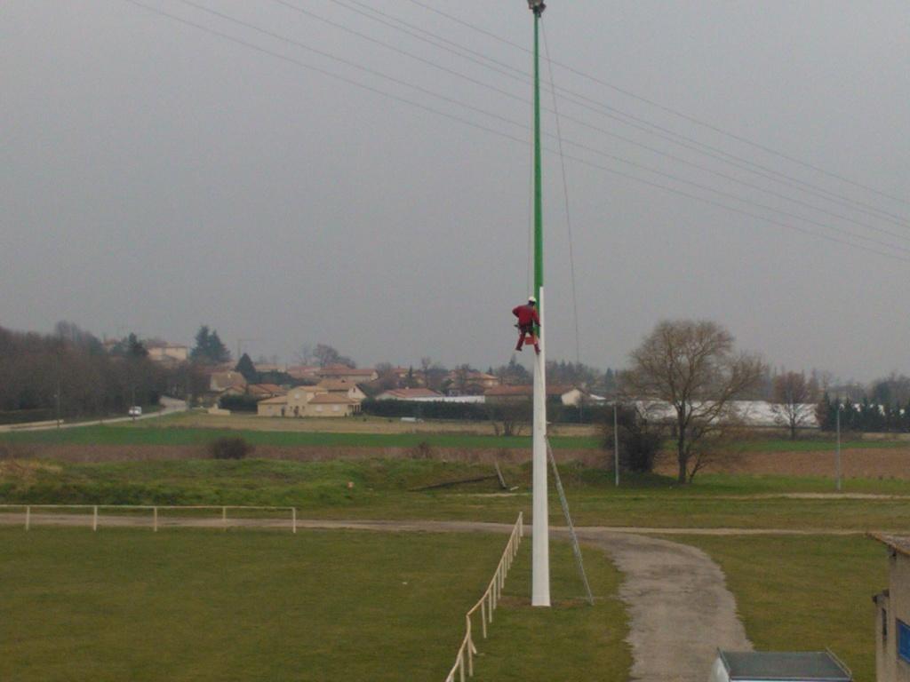 Formation travaux sur pylône